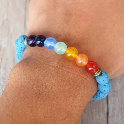 Chakra-Bracelet of communication of the 7 chakras.-WorldOfChakras