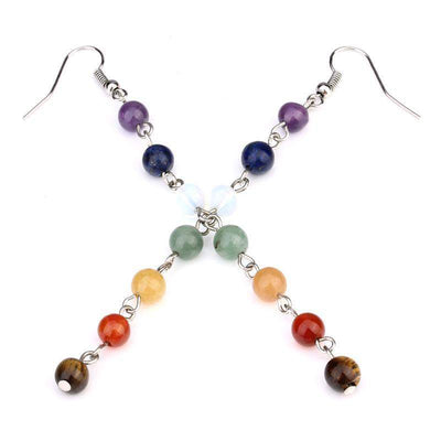Chakra-Earrings of 7 chakras-WorldOfChakras