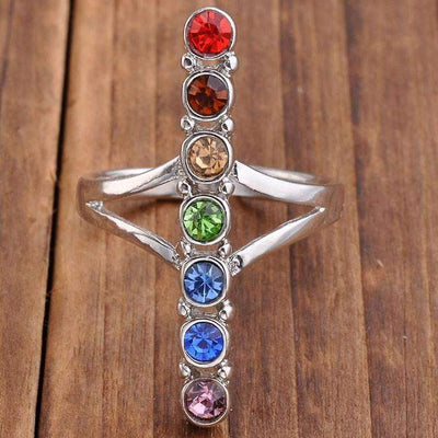 Chakra-Energy Ring of 7 chakras (Buy 1 get 3)-WorldOfChakras