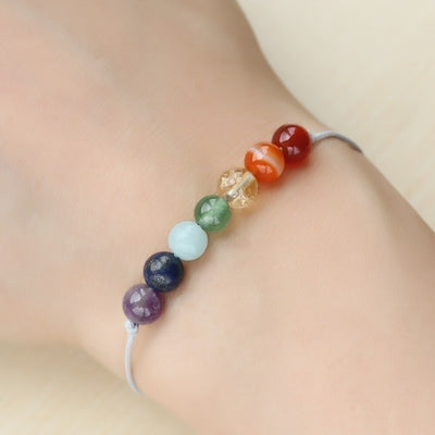 Wish Bracelet of 7 Chakras