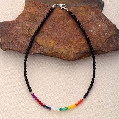 « Balance and Harmony »  7 chakras necklace