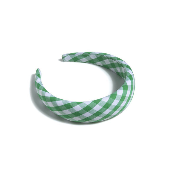 Gingham Plaid Headband
