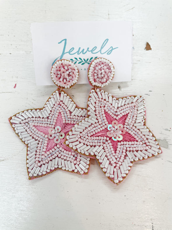Kodiak Star Embellished Earring