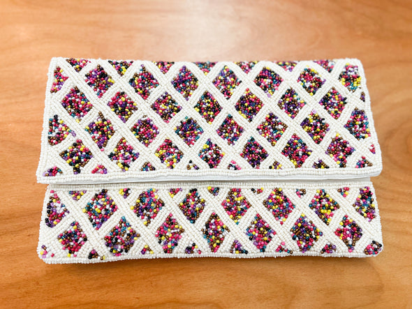Multi Beaded Clutches