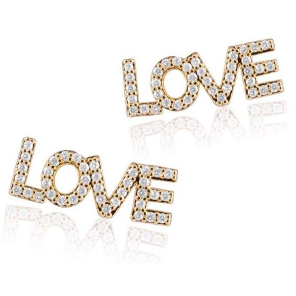 Love Studs-Gold