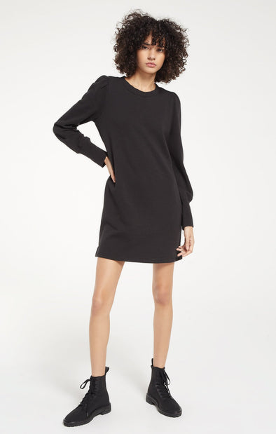Black Kyra Terry Dress