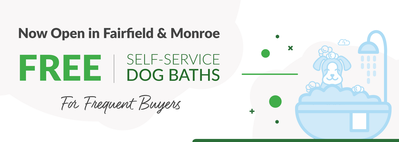 Free Self-Service Dog Baths for Frequent Buyers