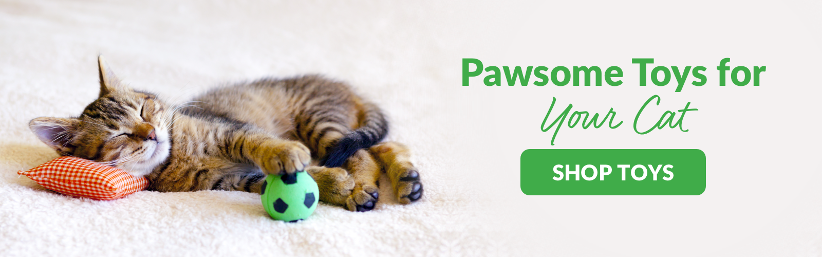 shop paw-some toys for your cat