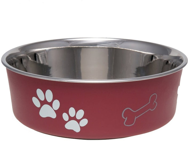 Loving Pets Merlot Bella Bowl