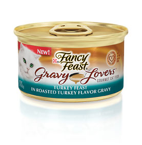 Fancy Feast Gravy Lovers Turkey Canned Cat Food