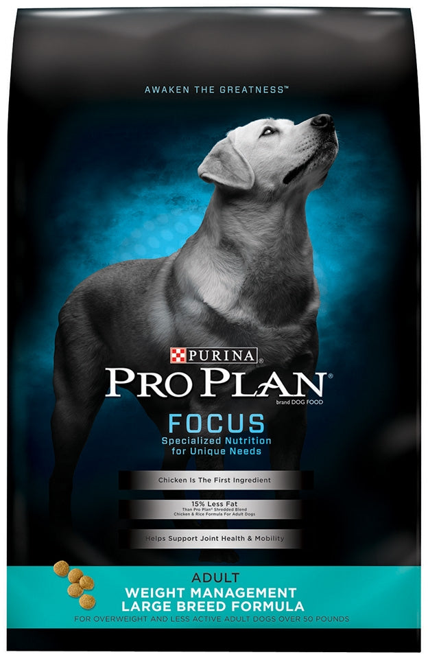 Purina Pro Plan Focus Adult Large Breed Weight Management Formula Dry Dog Food