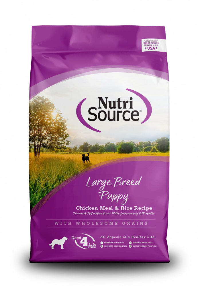 NutriSource Large Breed Puppy Chicken & Rice Dry Dog Food