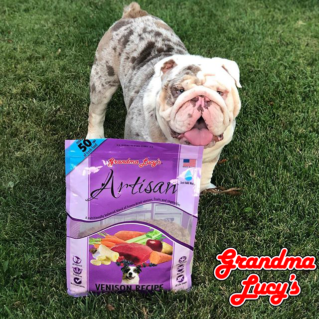 Grandma Lucy's Artisan Grain Free Venison Freeze Dried Dog Food