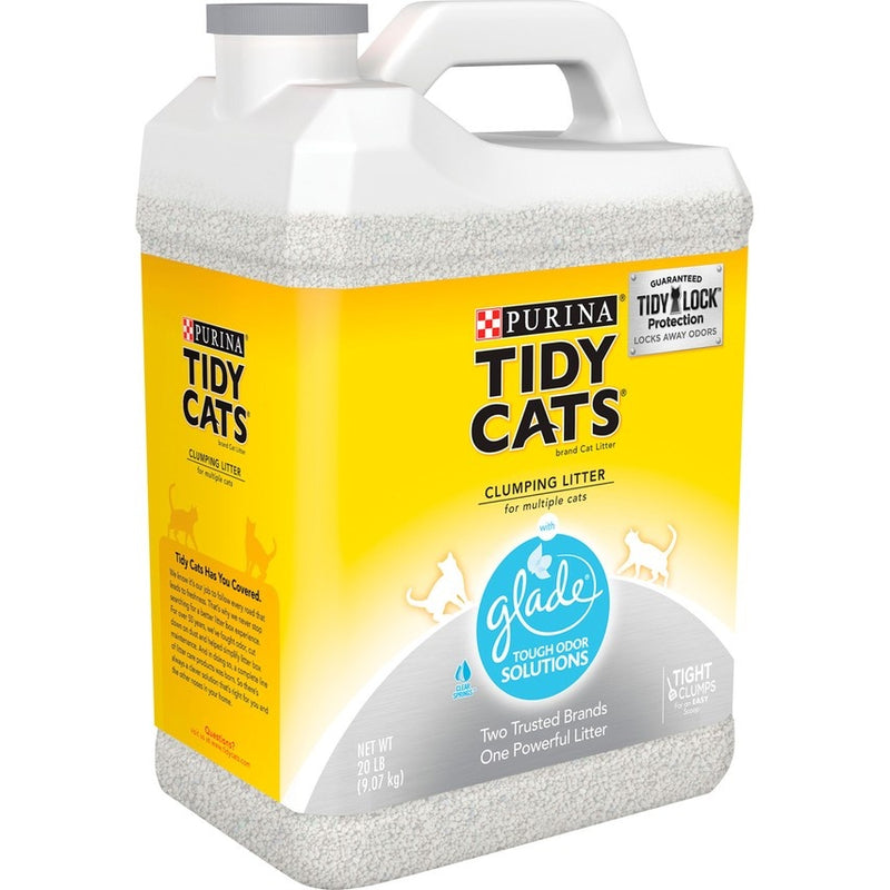 Tidy Cats Glade Tough Odor Solutions Cat Litter