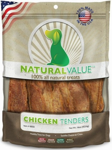 Loving Pets Natural Value Chicken Tenders Dog Treats