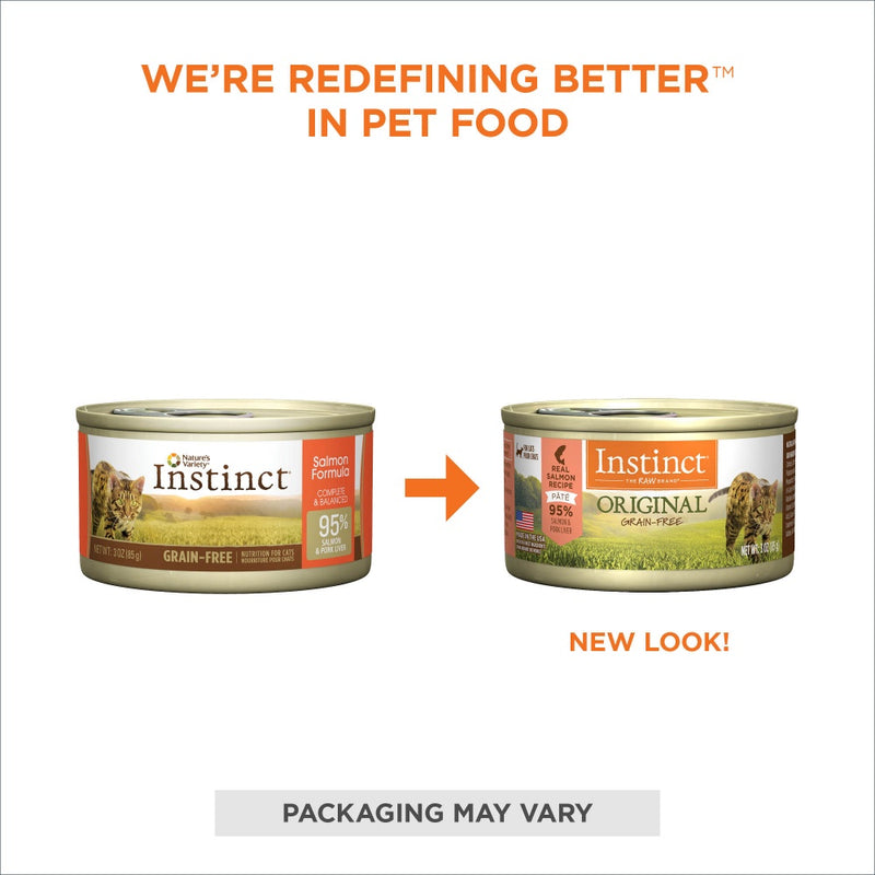 Instinct Grain Free Salmon Formula Canned Cat Food