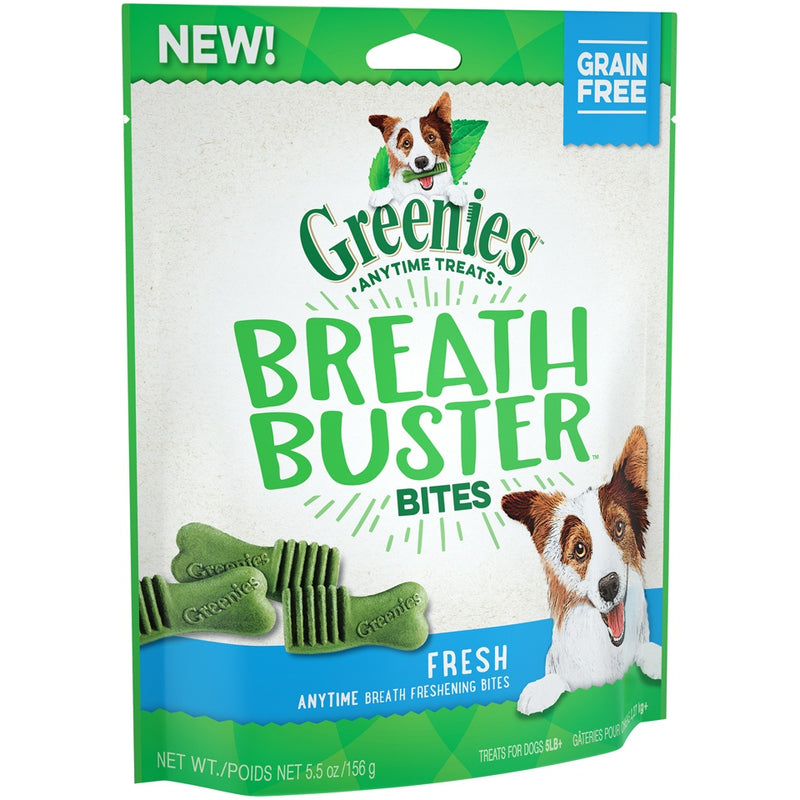 Greenies Grain Free Breath Buster Bites Fresh Flavor Dog Treats