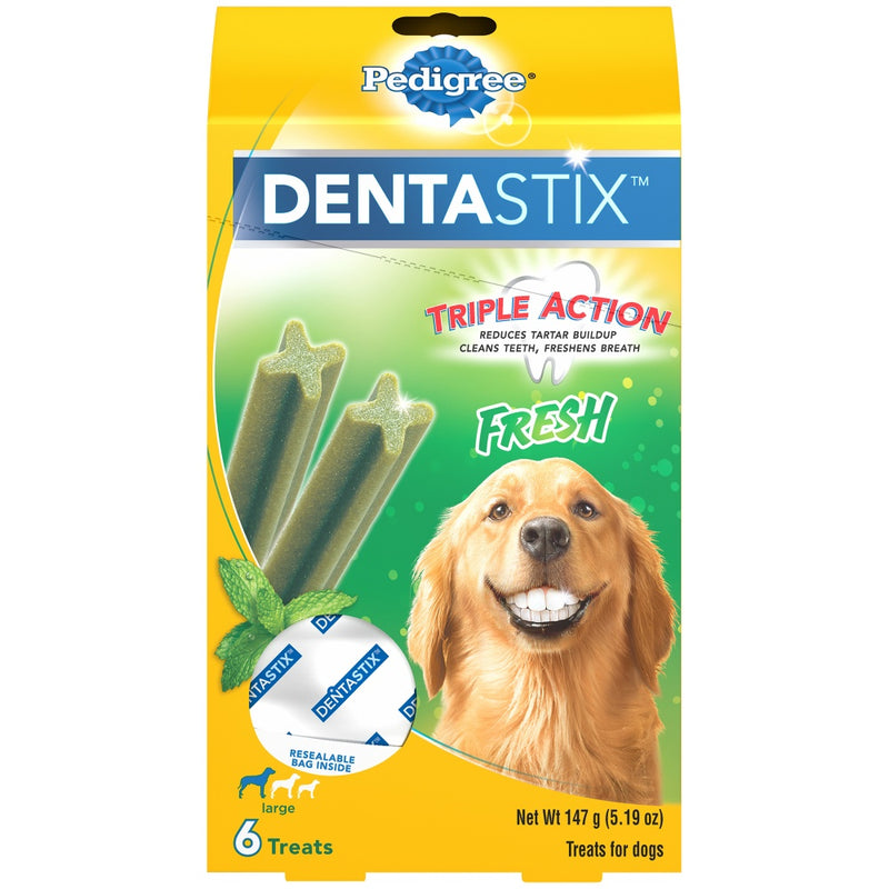Pedigree Fresh Dentastix Large Dog Treats