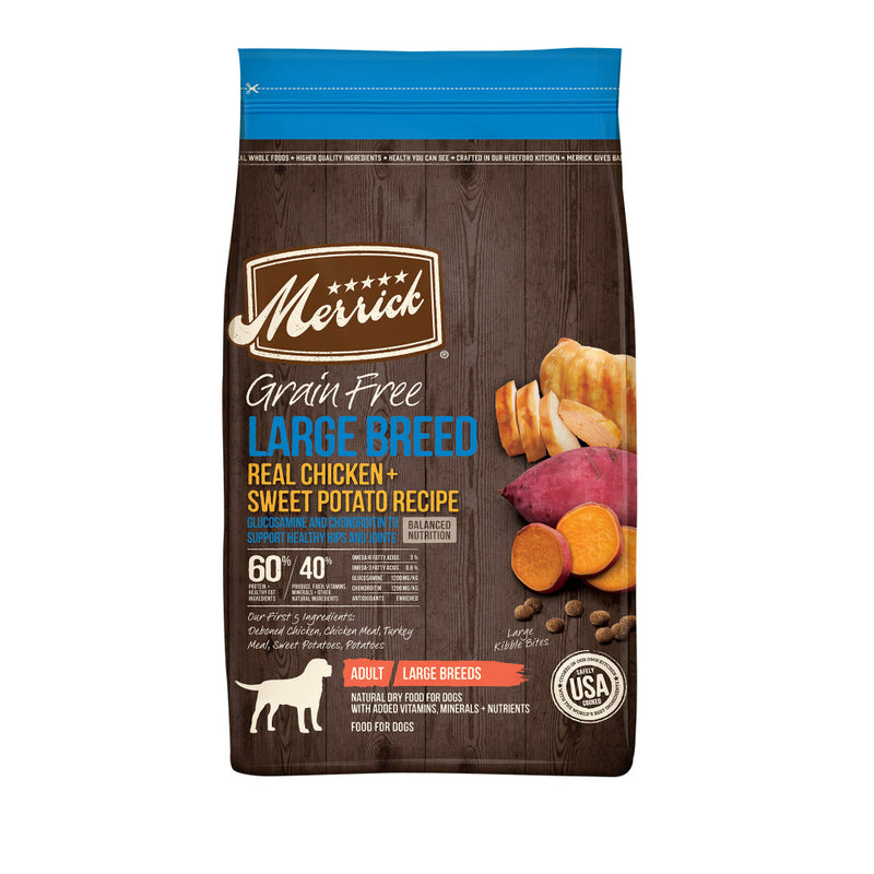 Merrick Grain Free Large Breed Real Chicken & Sweet Potato Dry Dog Food