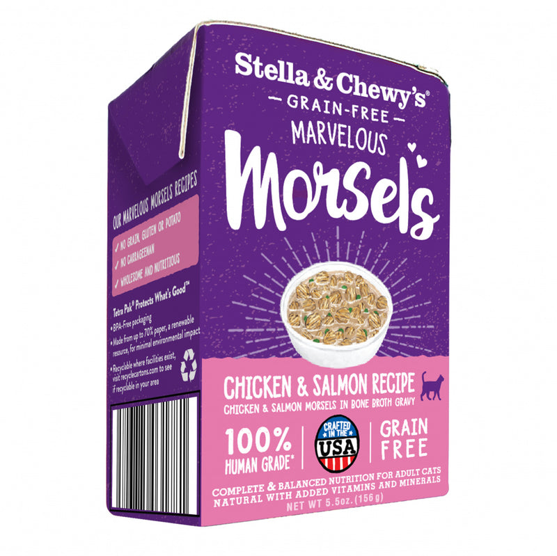 Stella & Chewy's Marvelous Morsels Chicken & Salmon Medley Recipe Wet Cat Food
