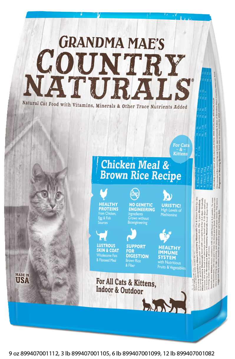 Grandma Mae's Country Naturals for Cats & Kittens