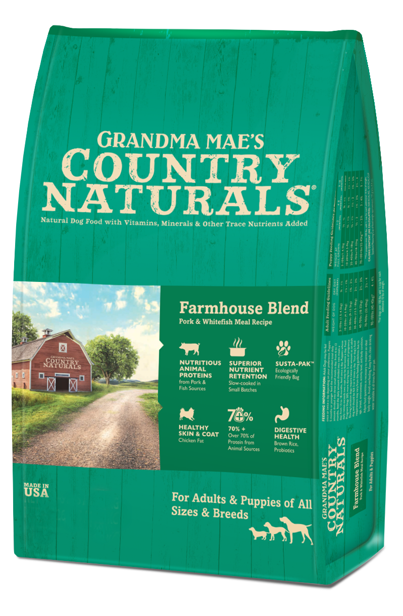 Grandma Mae's Country Farmhouse Blend Dry Food for Dogs