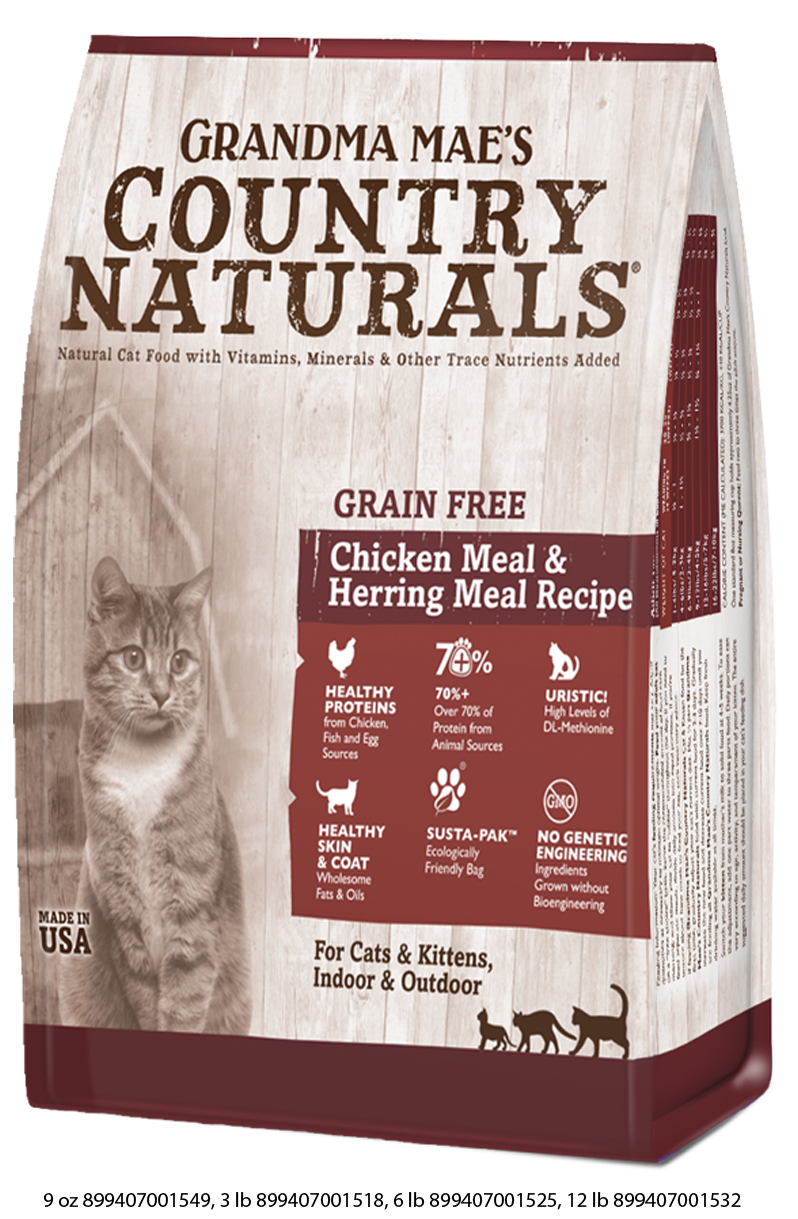 Grandma Mae's Country Naturals Grain Free Dry Food for Cats & Kittens