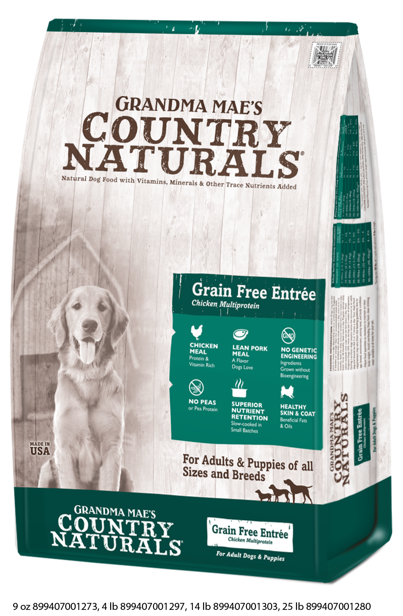 Grandma Mae's Country Grain Free Entrée Dry Food for Dogs