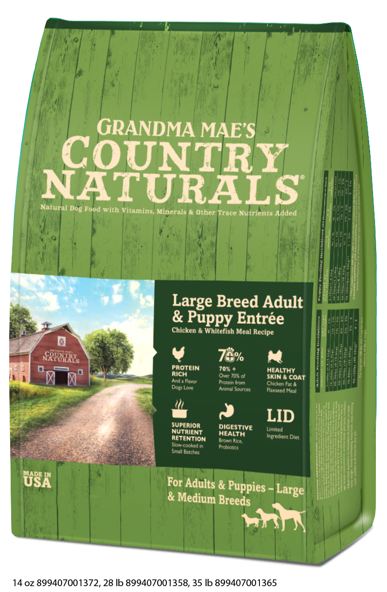 Grandma Mae's Country Naturals Large Breed Dry Food for Dogs