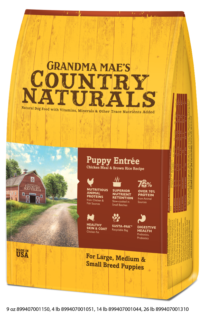 Grandma Mae's Country Puppy Entrée Dry Food for Dogs