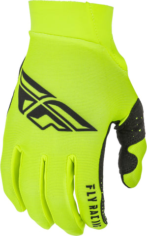 Fly Mx Pro Lite Gloves Hi-Vis/Black Sz 11