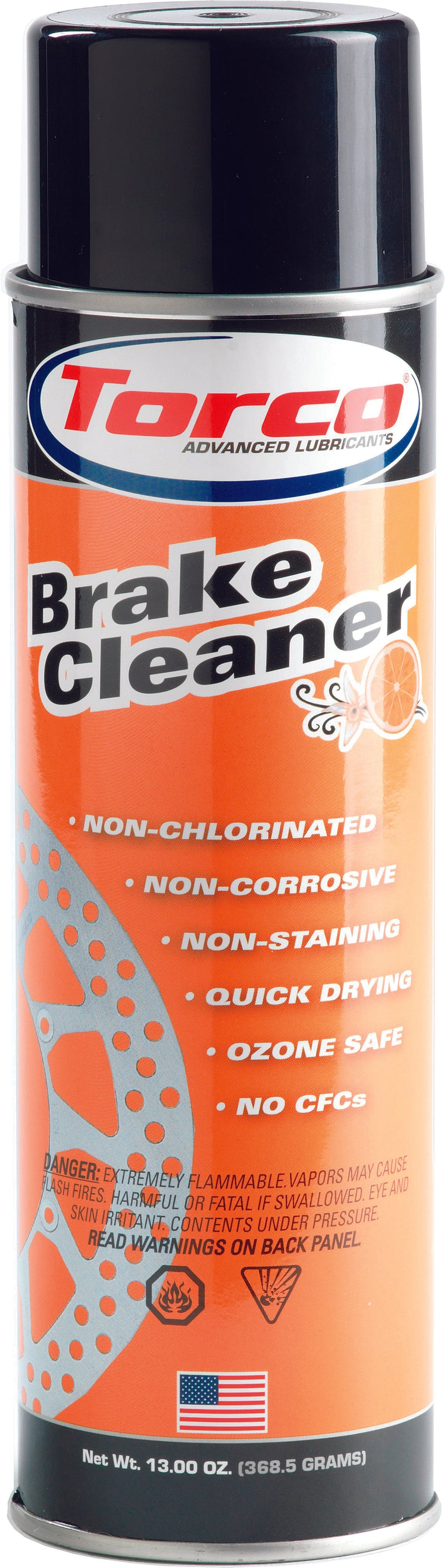 Brake & Contact Cleaner 13Oz  Torco T570000ne