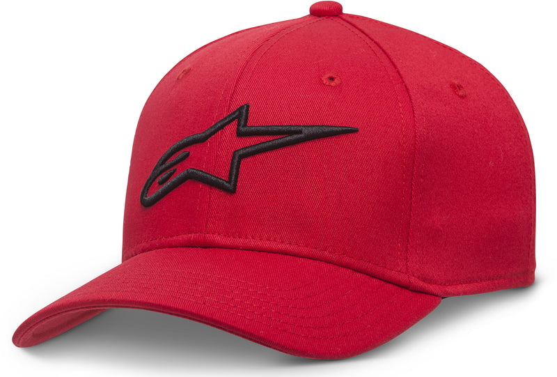 Curve Hat Red Lg/Xl Large Alpinestars 1017-81010-3010-L/X