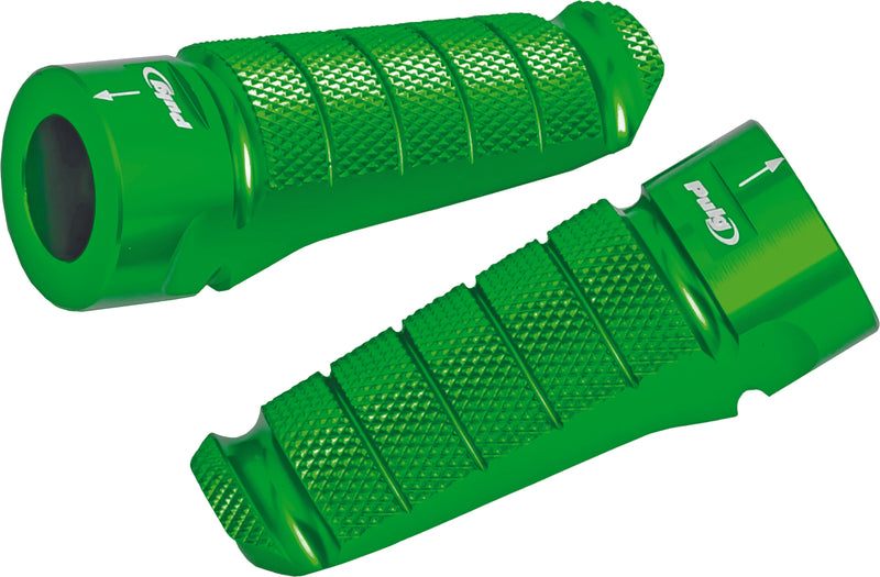 FOOTPEGS RACING GREEN Puig Racing Screens 6301V