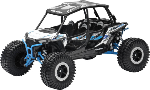 REPLICA 1:18 UTV POLARIS RZR 4 TURBO RC WHITE New-Ray Toys