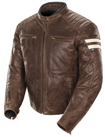Joe Rocket Classic '92 Mens Leather Motorcycle Jacket 1326 Multi Colors Sizes 2018