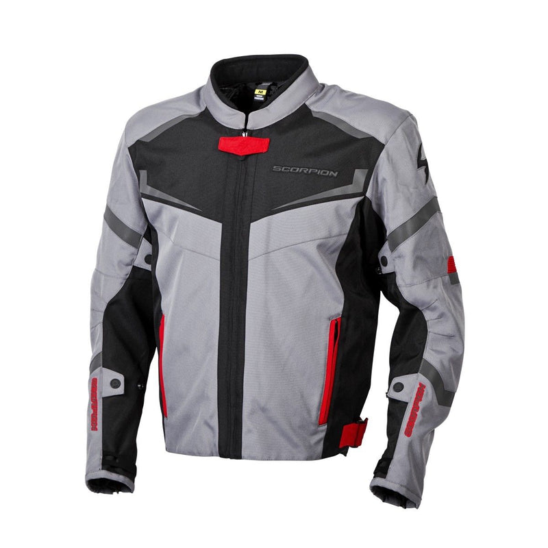 SCORPION EXO Men's Phalanx Motorcycle Jacket Removable Liner DARK GREY S-3XL 14402-4