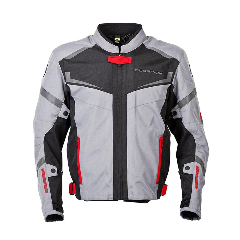Scorpion Scorpion Exo Men's Phalanx Motorcycle Jacket Removable Liner Dark Grey S-3Xl 14402-8 3X-Large 14402-8