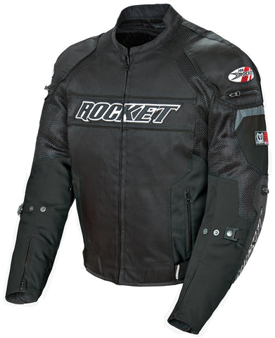 Joe Rocket Resistor Mesh Motorcycle Jacket Mens C.E. approved armor Multi Colors and Sizes 1460