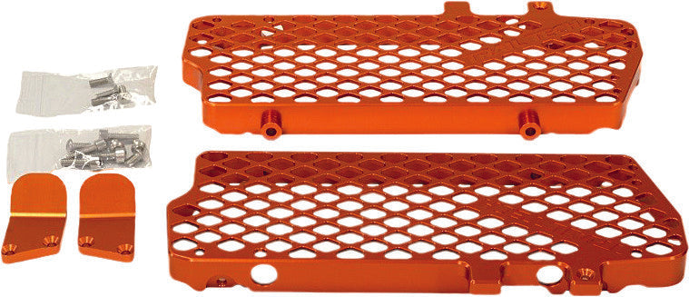 Ktm Radiator Guard Org Trail Tech 0150-RB03