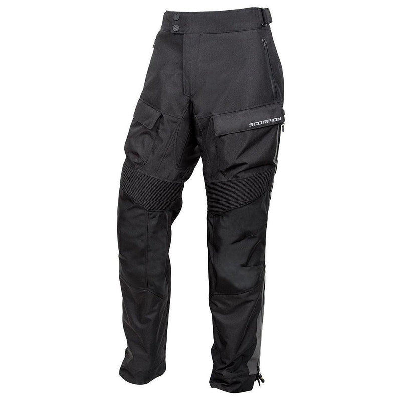 Scorpion Sports, Inc Exo Seattle WP Men's Textile Motorcycle Over-Pants Black 2803-6
