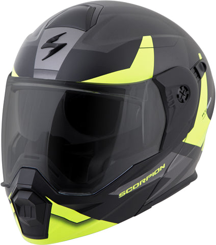 Scorpion Sports, Inc Exo-At950 Cold Weather Helmet W/Dual Pane Shield Hi-Vis