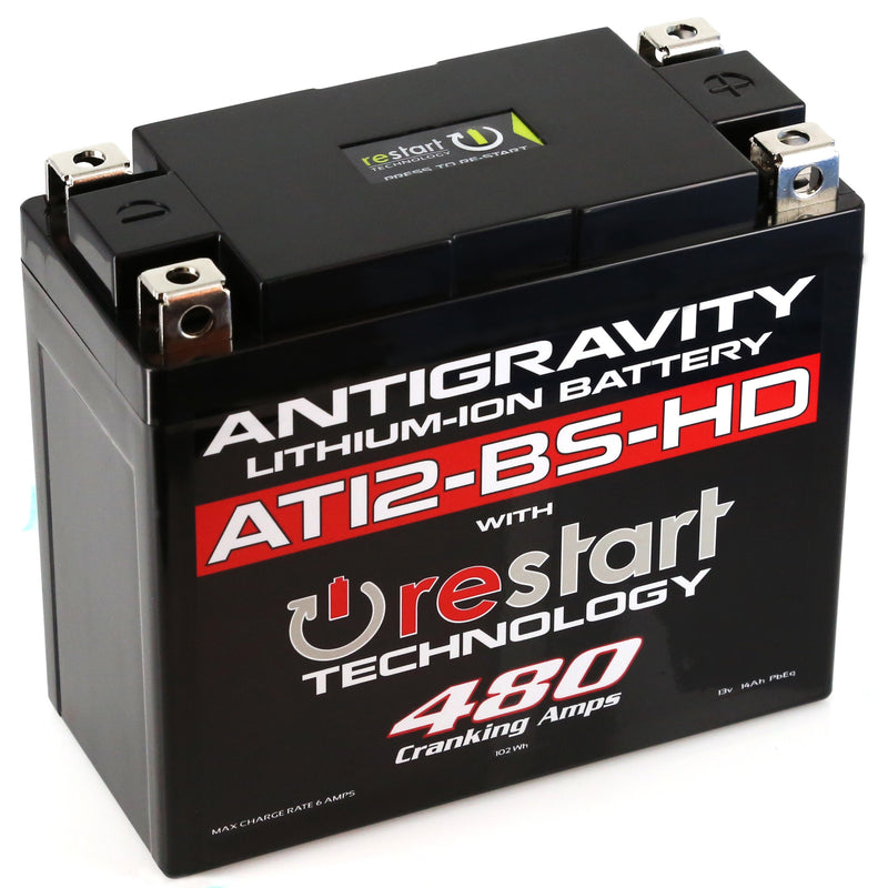 LITHIUM BATTERY AT12BS-HD-RS 480 CA Antigravity Batteries AG-AT12BS-HD-RS