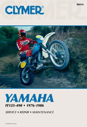 REPAIR MANUAL YAM IT 125-490 Clymer CM414