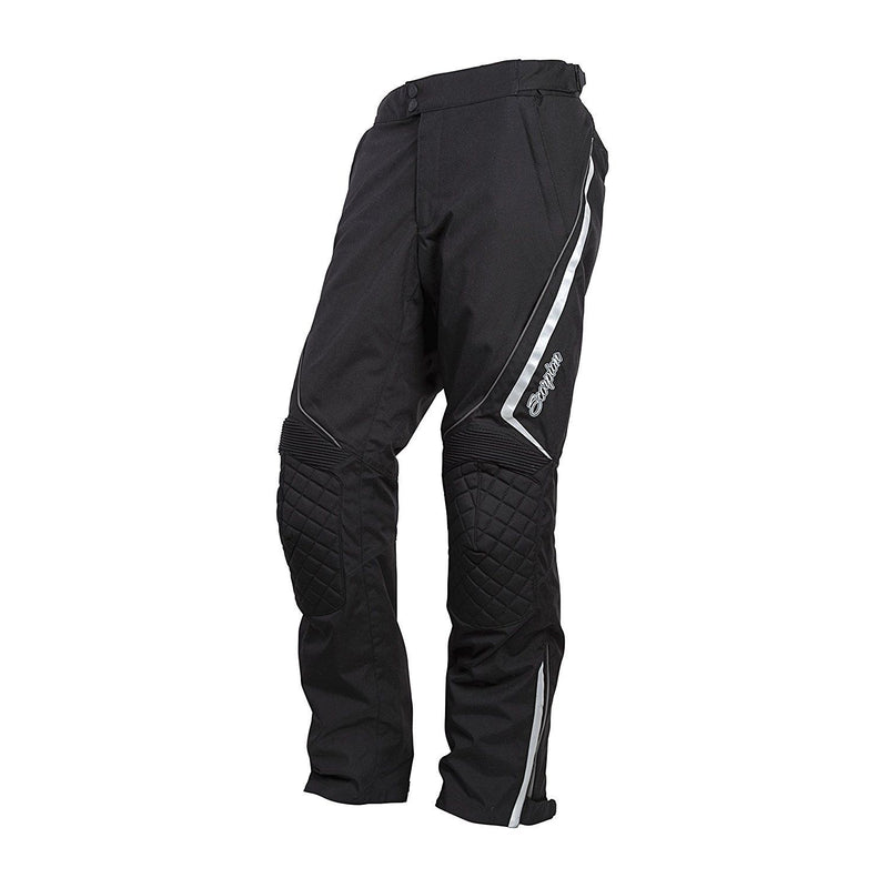 Scorpion Sports, Inc Exo XDR Zion Women's Textile Touring Motorcycle Pants Black 5403-4