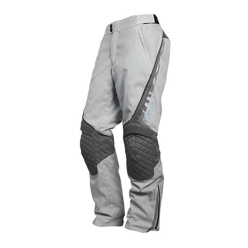 Scorpion Sports, Inc Exo XDR Zion Women's Textile Touring Motorcycle Pants Grey 5435-5