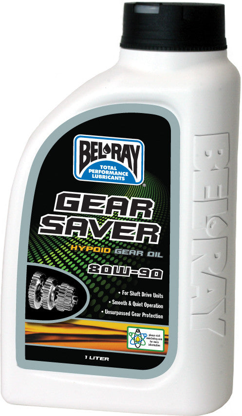 Gear Saver Hypoid Gear Oil 80W-90 Liter Bel-Ray 99230-B1Lw