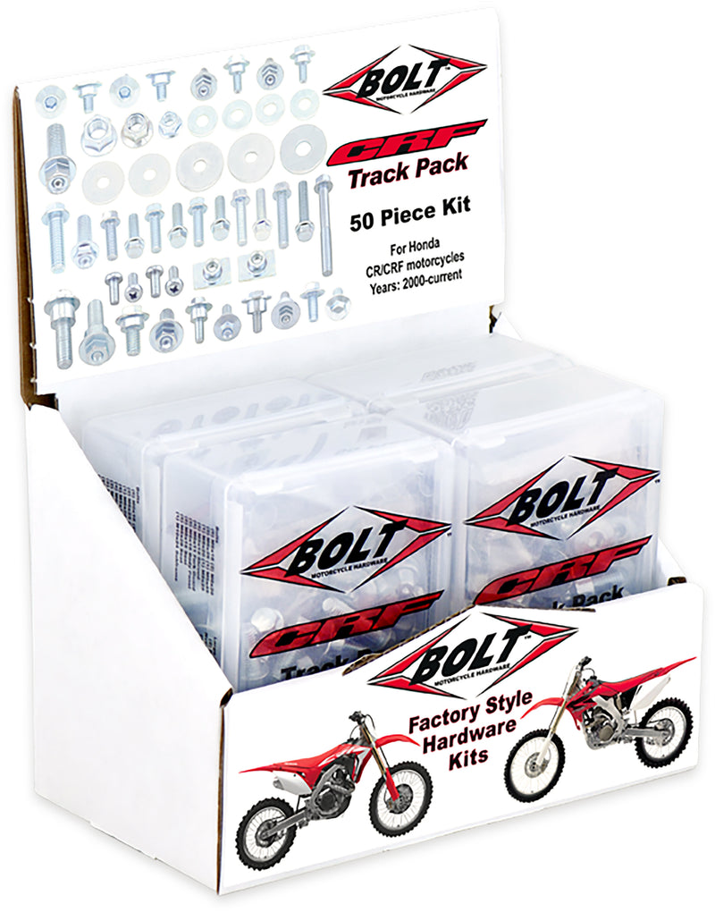 Crf Track Pack 6/Pk Display Os Bolt 2008-6Crf