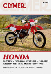 REPAIR MANUAL HON XL/XR 200-350 Clymer CM328-4