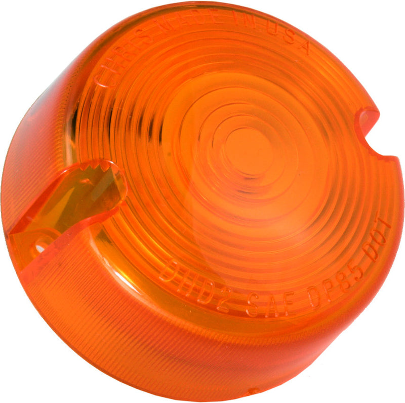 Turn Signal Lens Late Xl Models Amber Chris Products Dhd2A